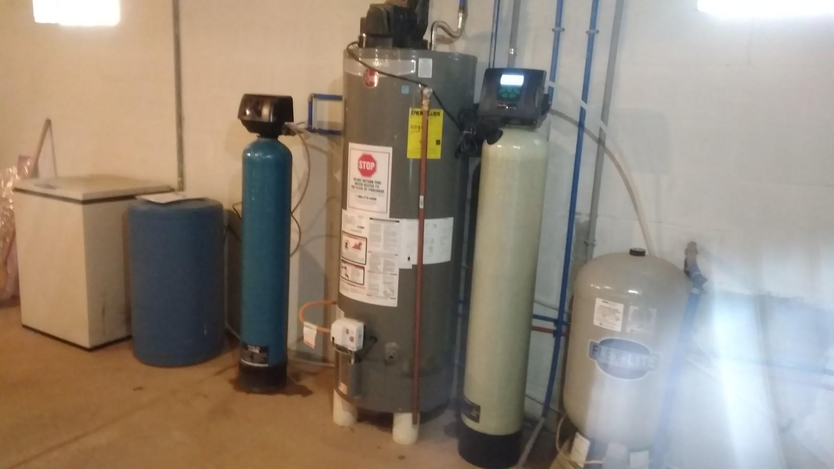 Iron filtration system installation with ozone