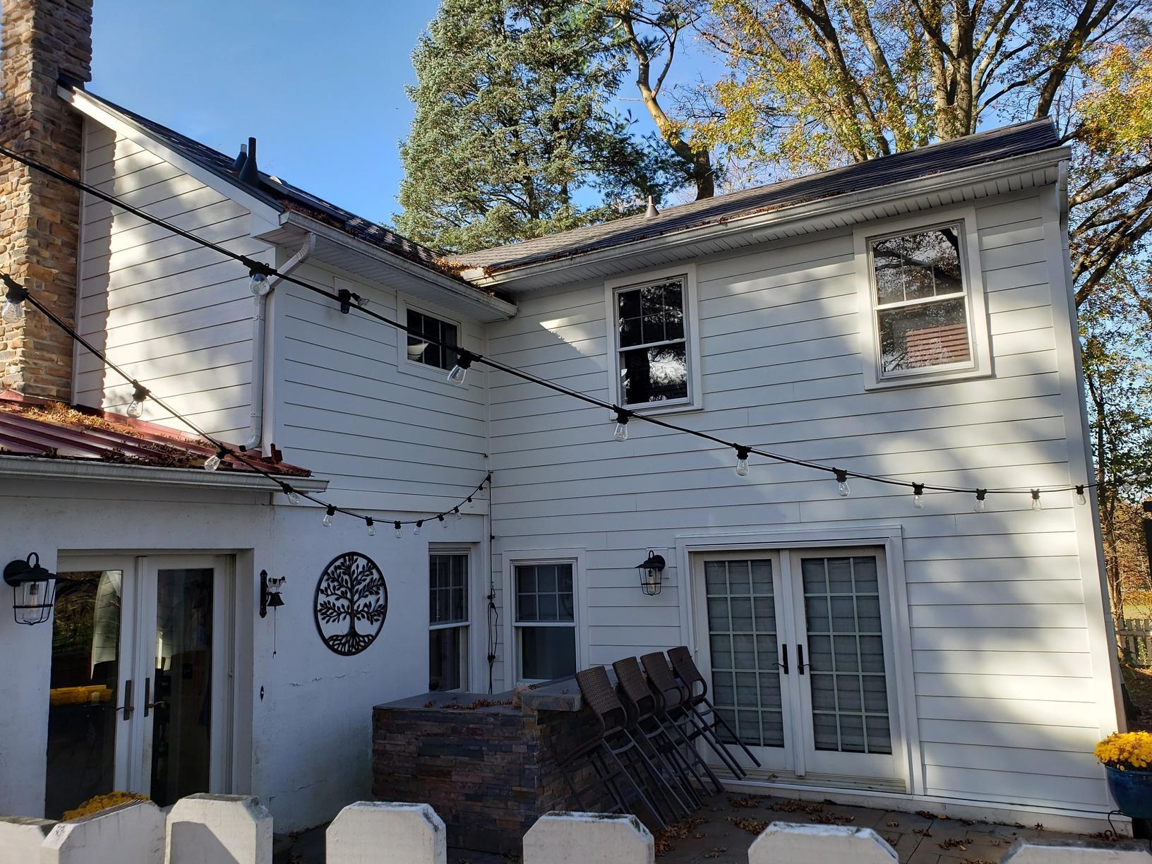 White Hardie Planks Installed on Freehold, NJ Home