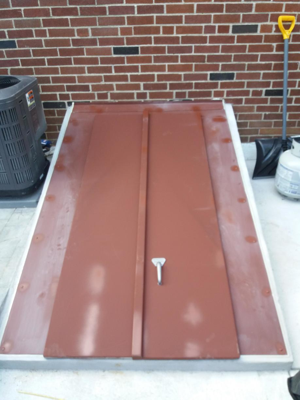 Custom Flat Cellar Door installed in Ardmore, PA