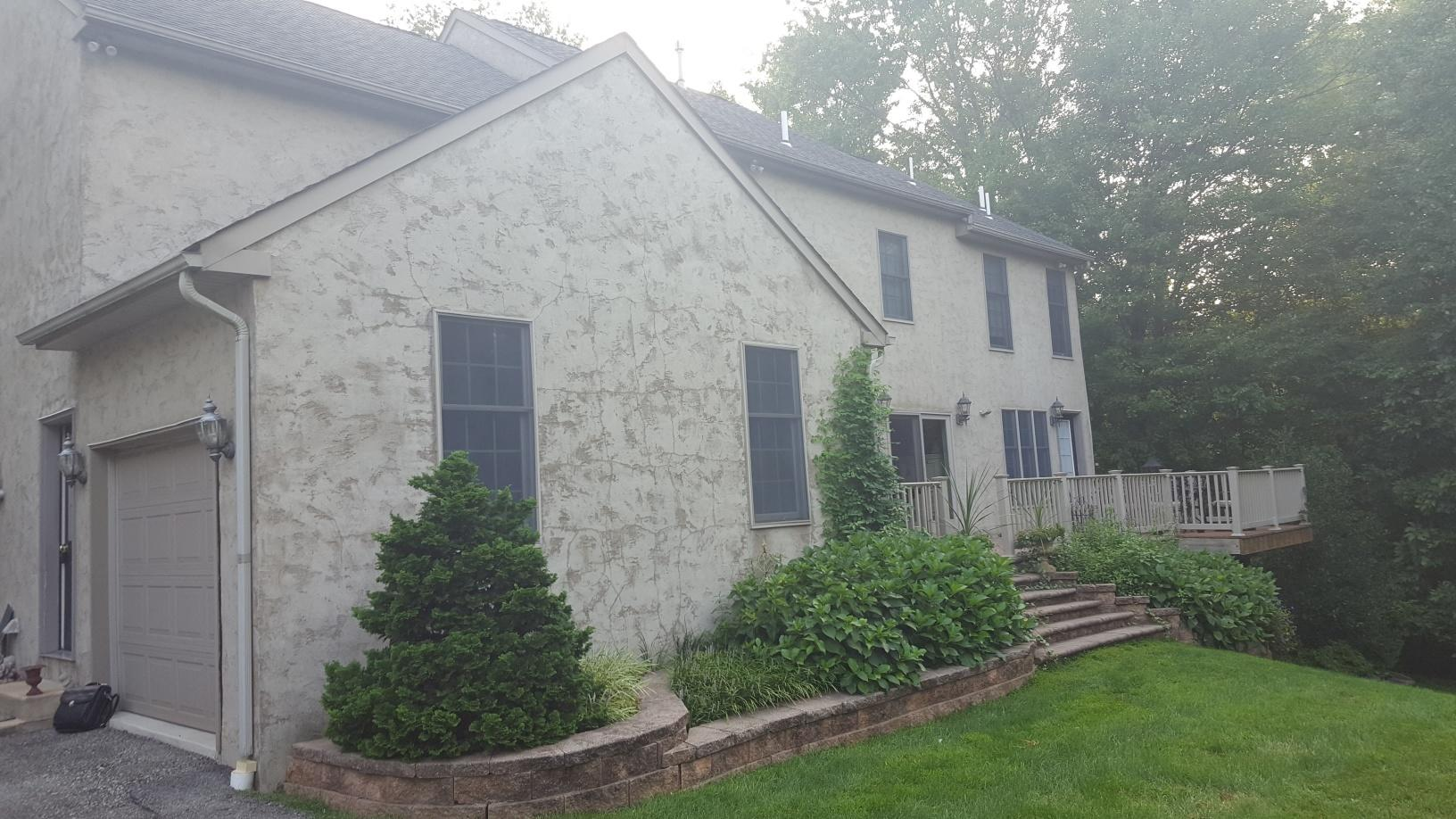 Replacing Cracking Stucco in East Norriton, PA