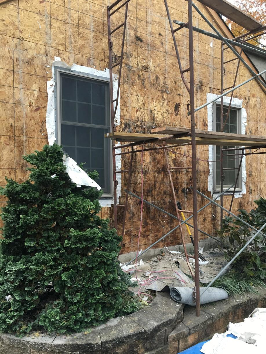 Wood Rotting Under Stucco Siding in PA
