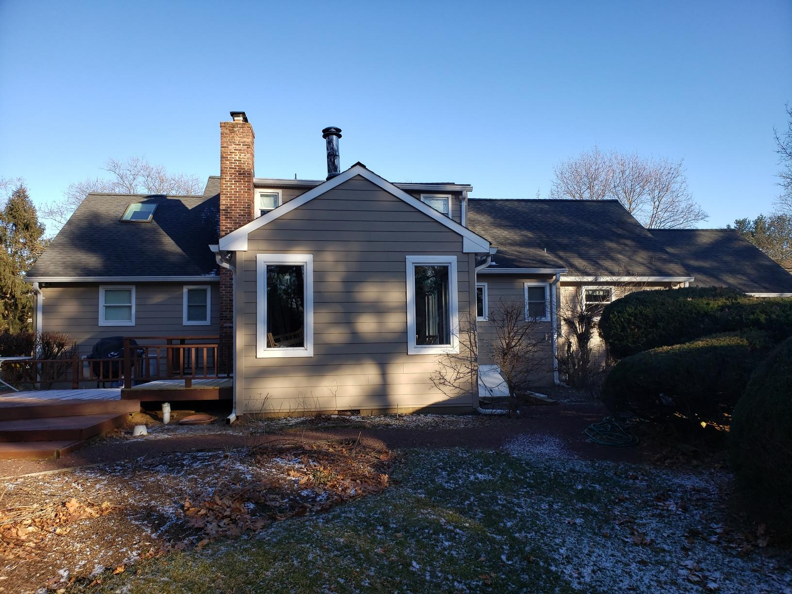 Hardie Planks and Marvin Infinity Windows Installed on NJ Home