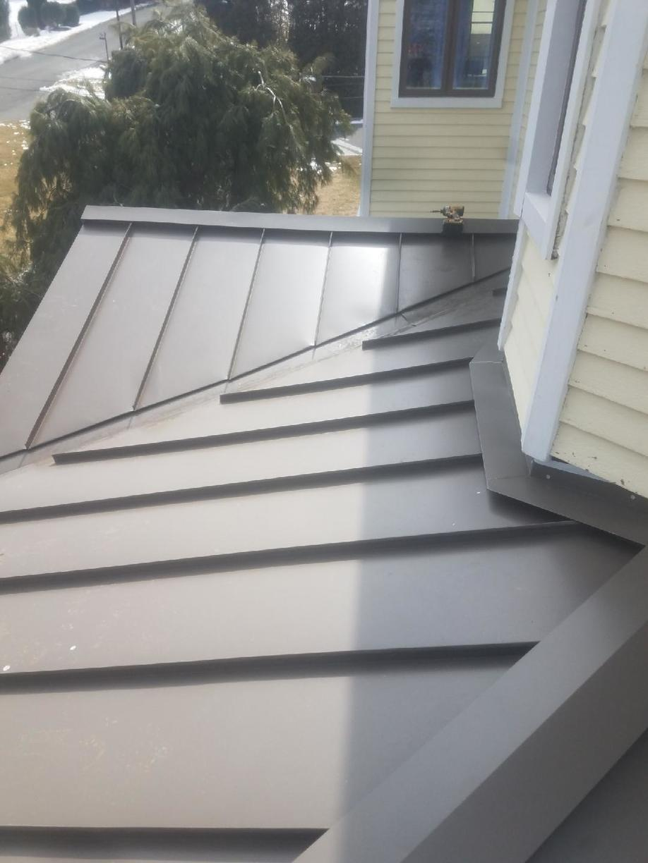 Metal Roof with Custom Flashing