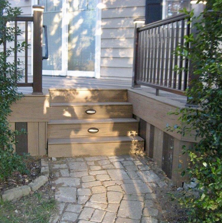 Decks Timbertech Deck Glen Carbon Il Timbertech
