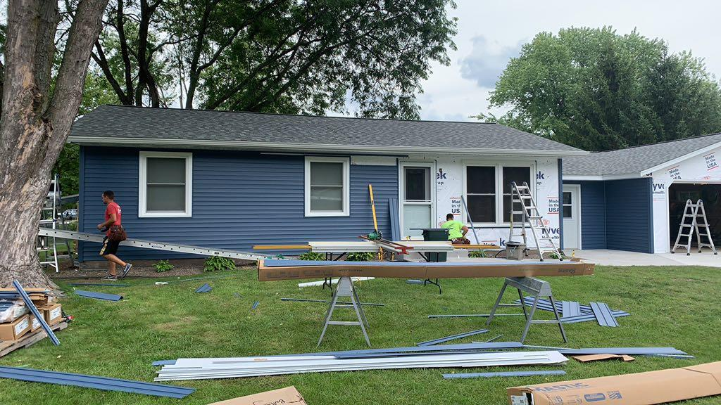 Roof Replacement Exterior Transformation In Sauk City