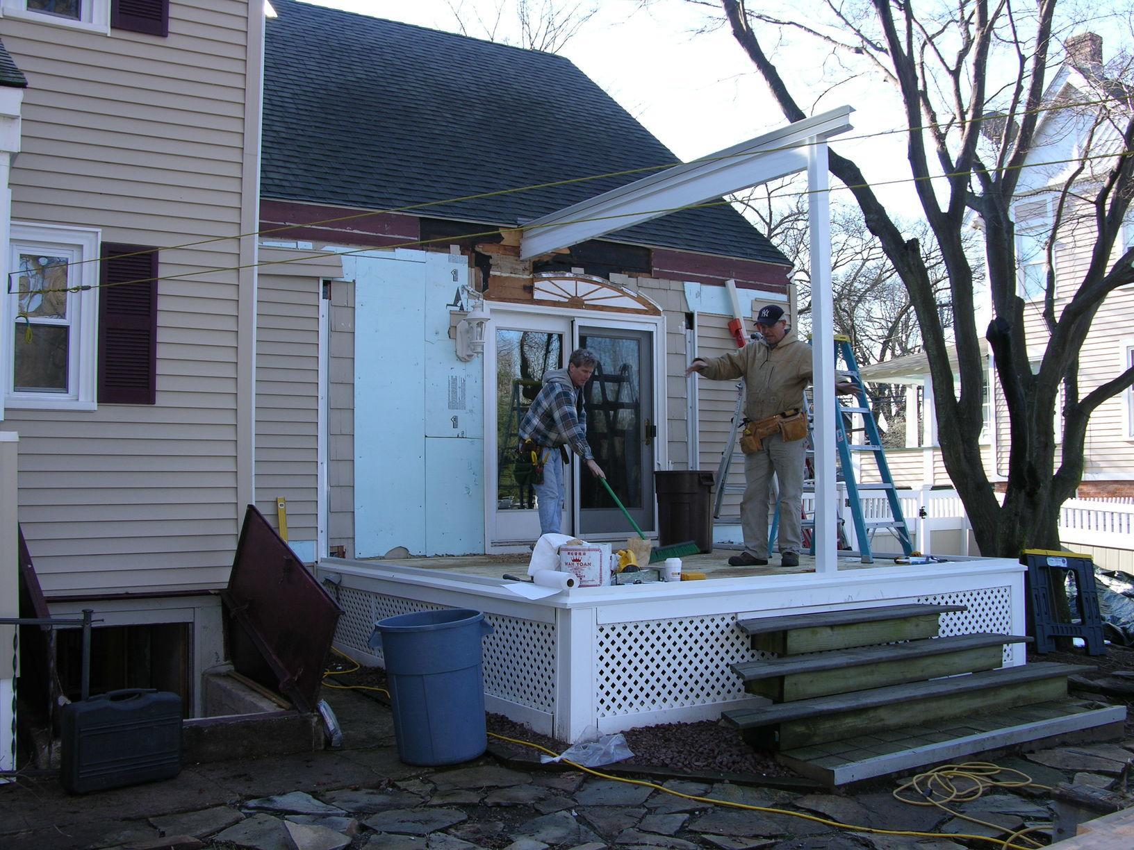 Building Sunroom in East Hartford, CT