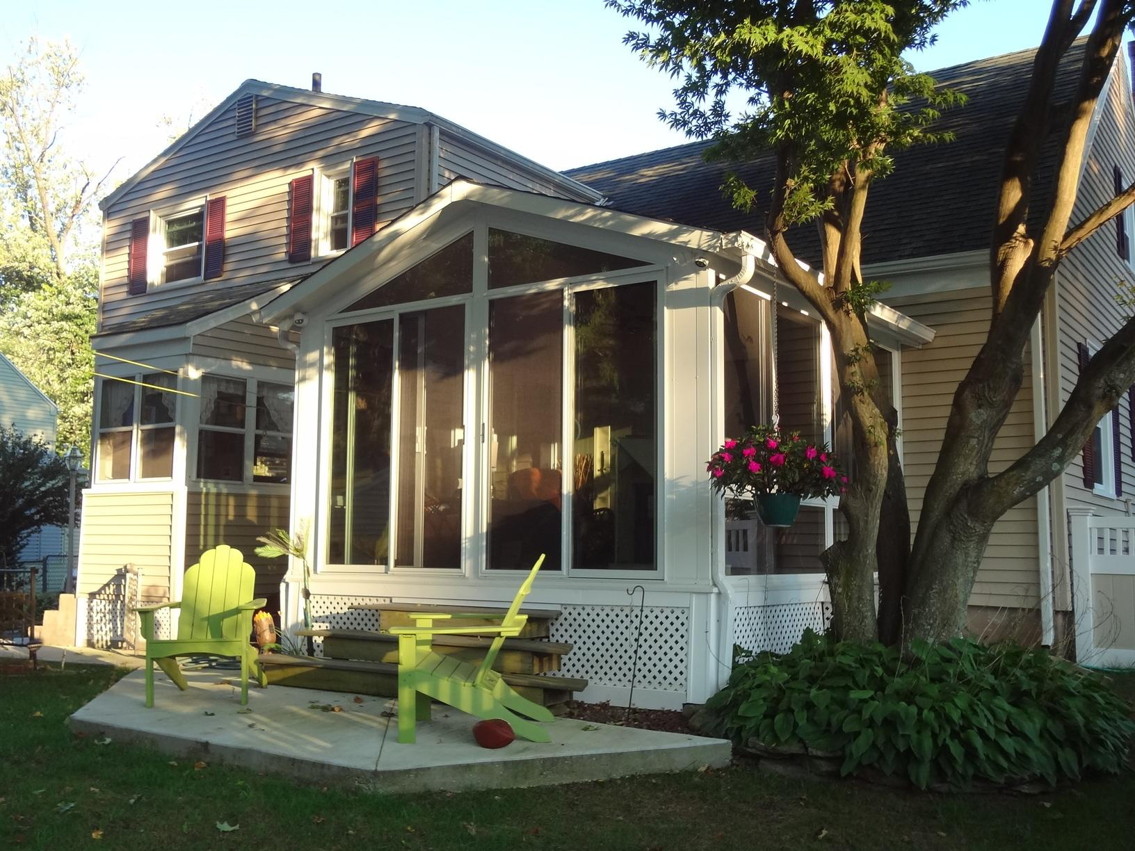 Finished Sunroom in East Hartford, CT