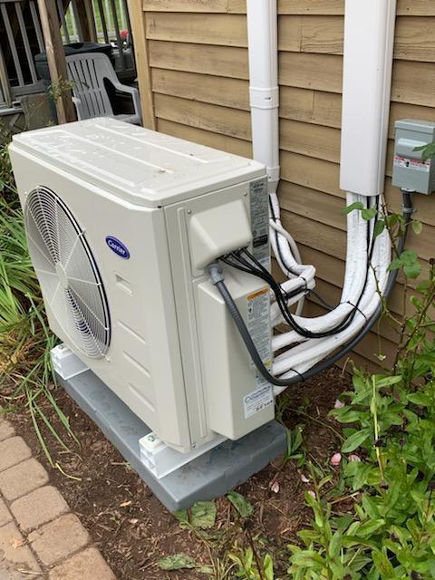 Heat Pump install in Cheshire, CT