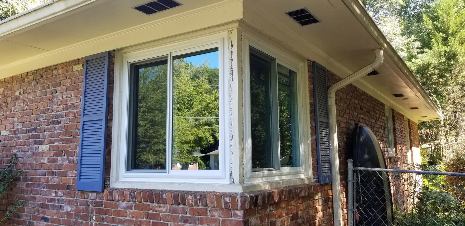 Corner Window - After