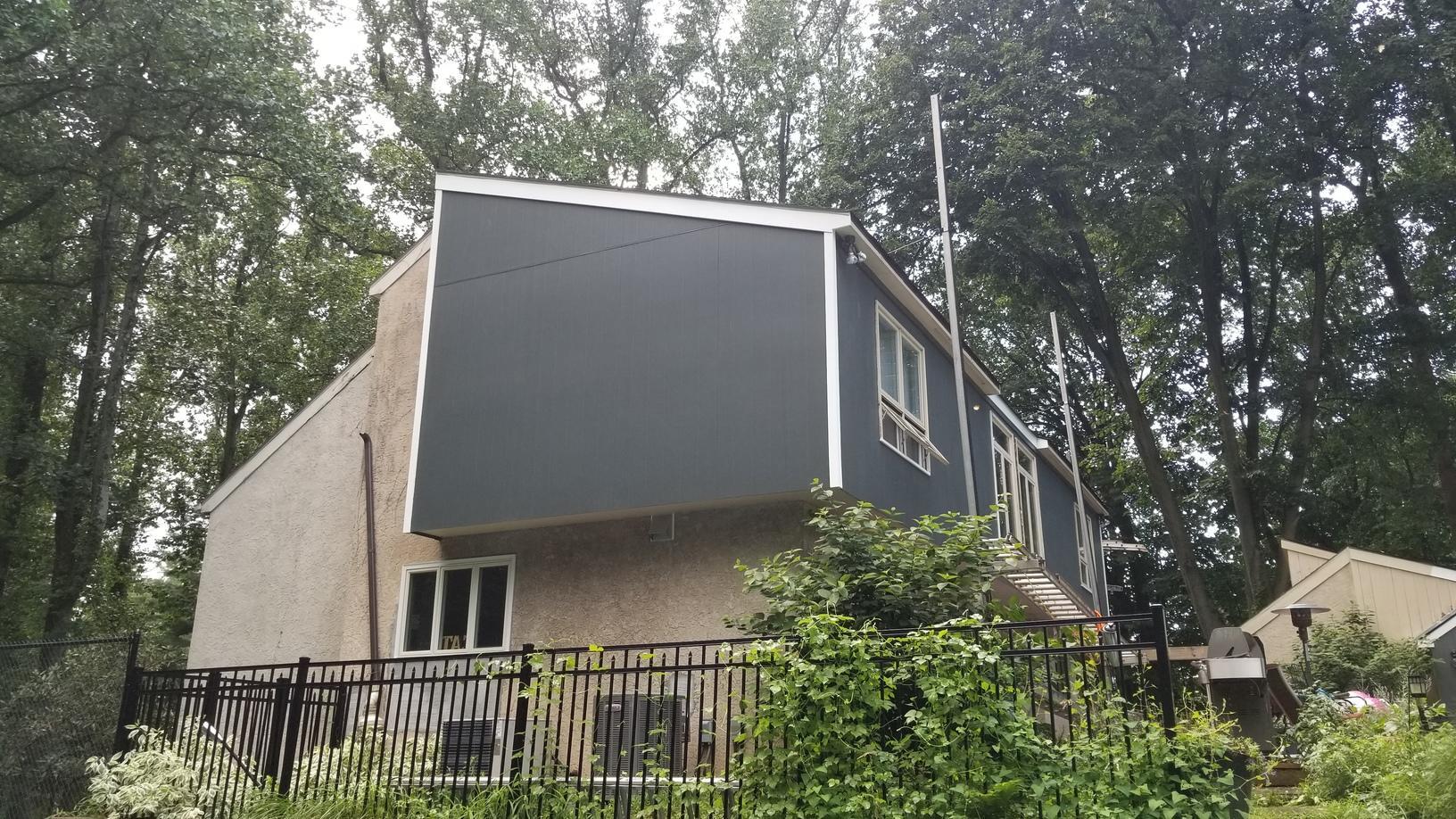 Hardie Vertical Siding Install in Bryn Mawr, PA