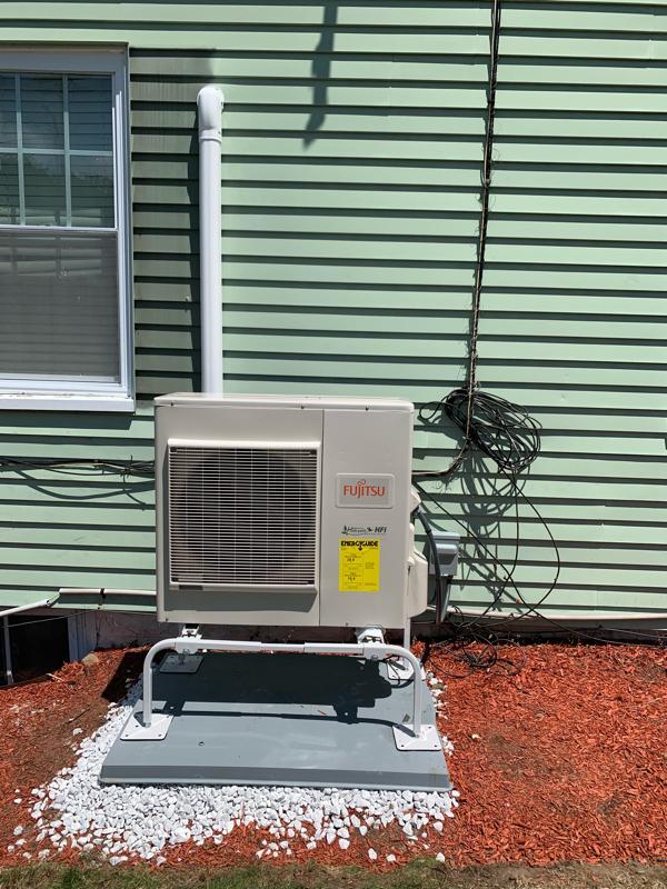 Outdoor Heat Pump Condenser