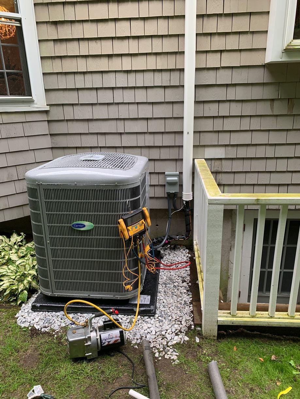 Testing New AC Condenser