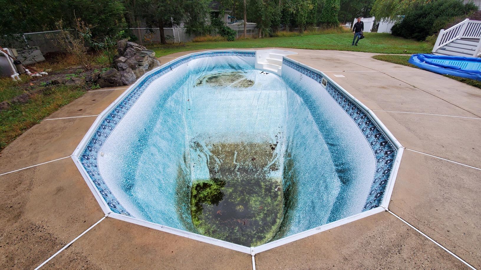 Inground Pool Liner Replacement in West Creek, NJ