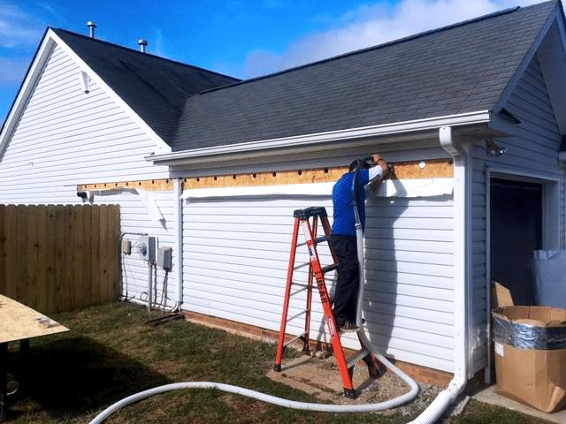 Insulating Garage Walls in Greensboro, NC
