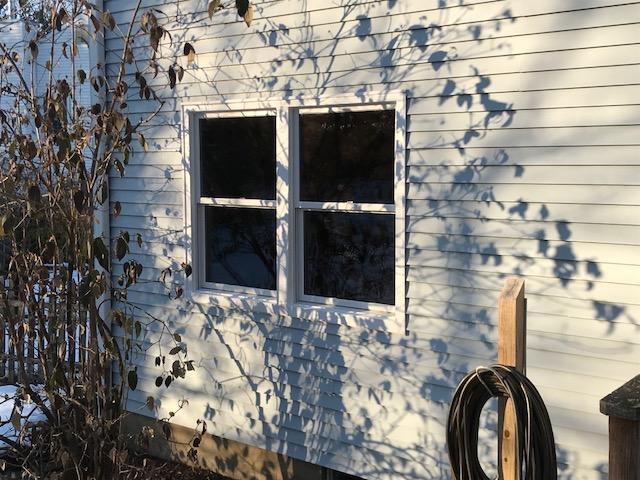 White Exterior of Infinity Windows