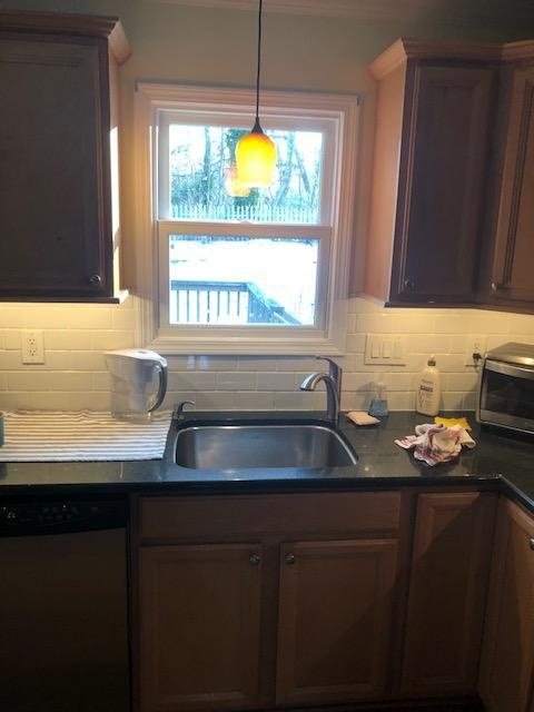 White Infinity Windows Installed in Kitchen