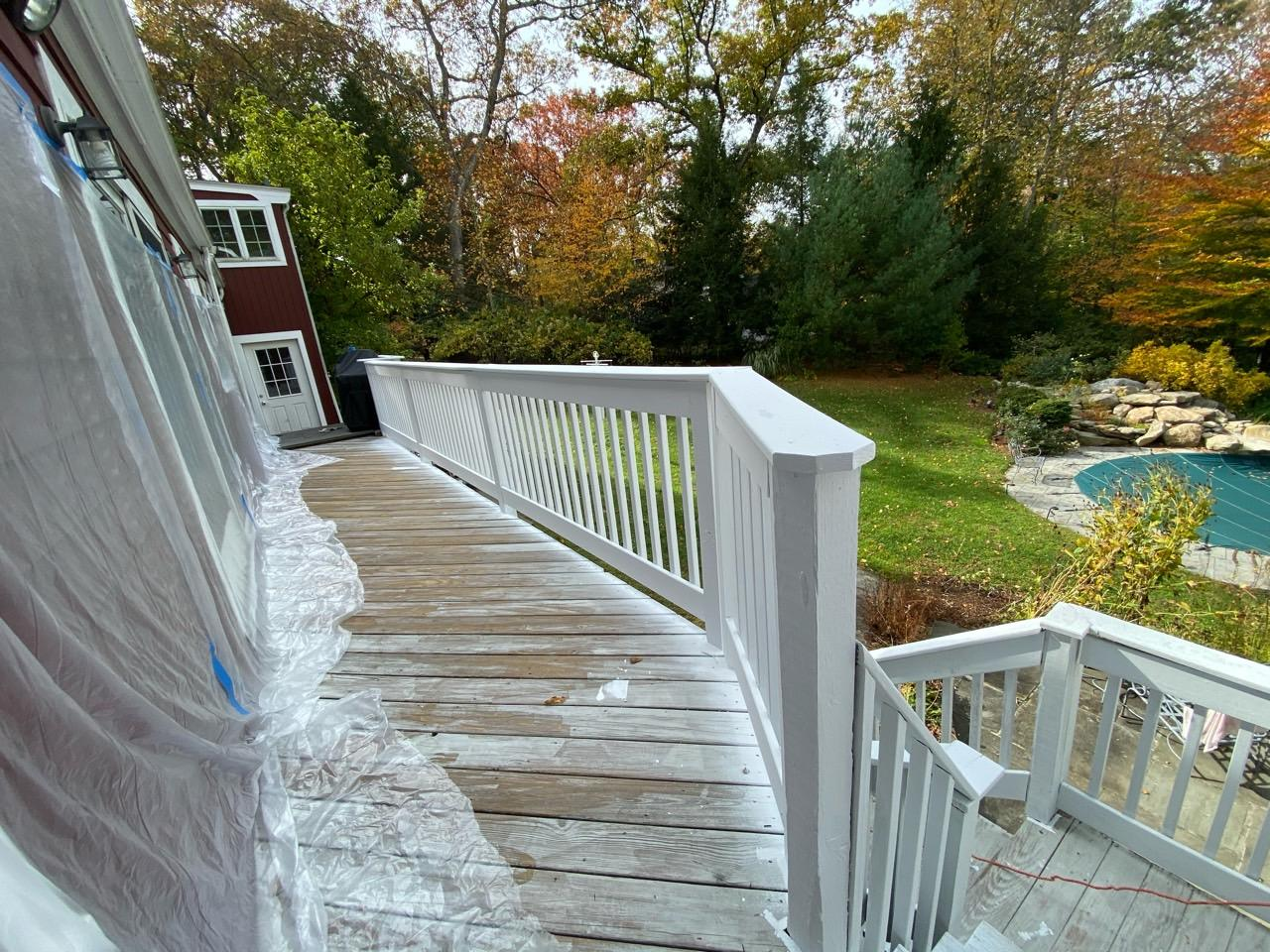 Deck Staining - Stamford Deck Staining - Railing Pimer ...