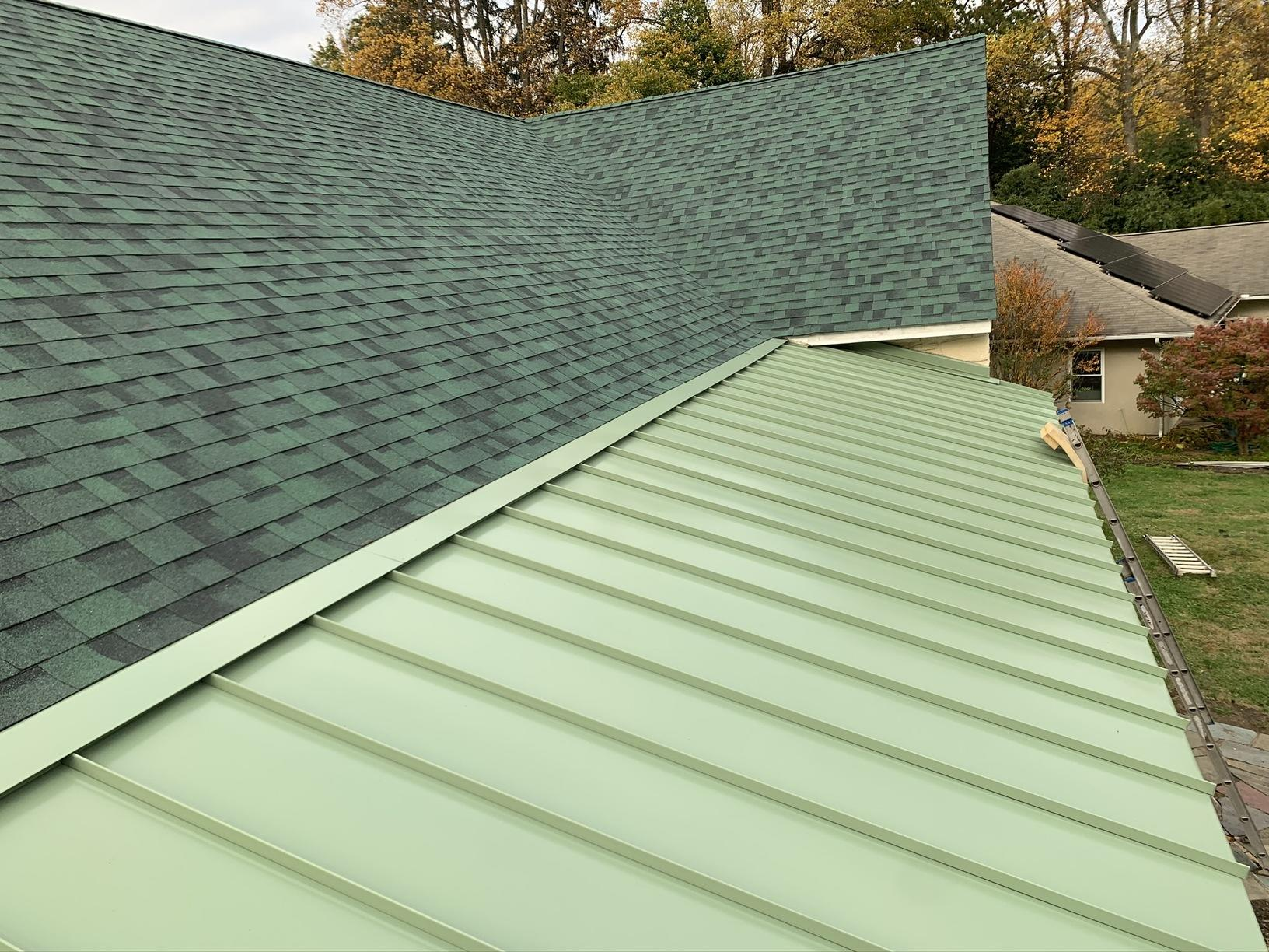 Metal Roofing October 2019 New Roof Install In Paoli Pa