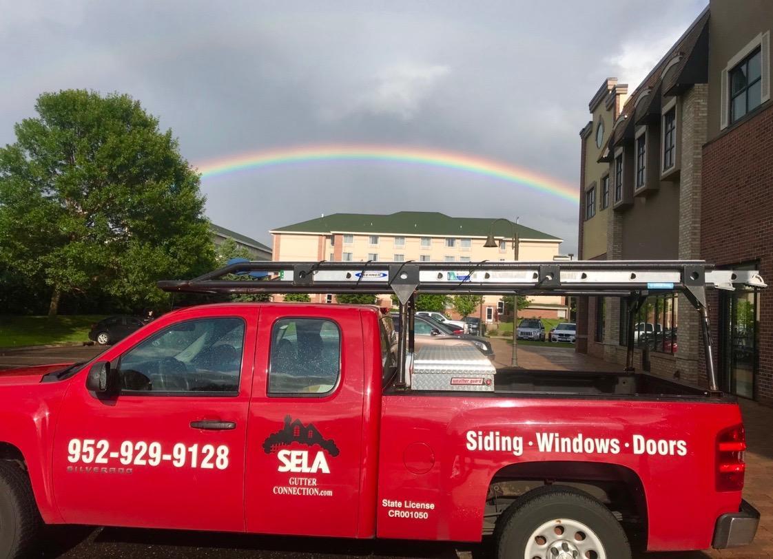 Rainbows in Brooklyn Center, MN