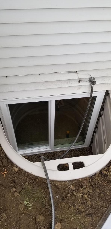 Basement Egress Window in Bemus Point, NY