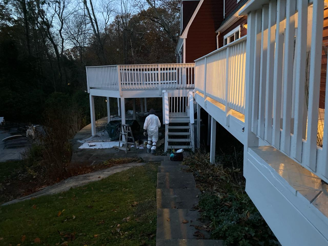 Final Product for Deck Painting