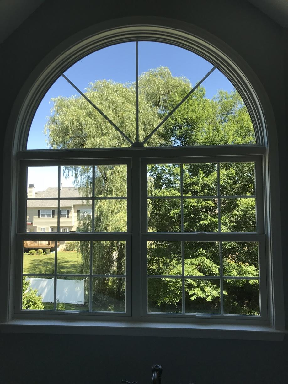 Marvin Infinity Double Hung and Half-Circle Window Install in North Wales, PA