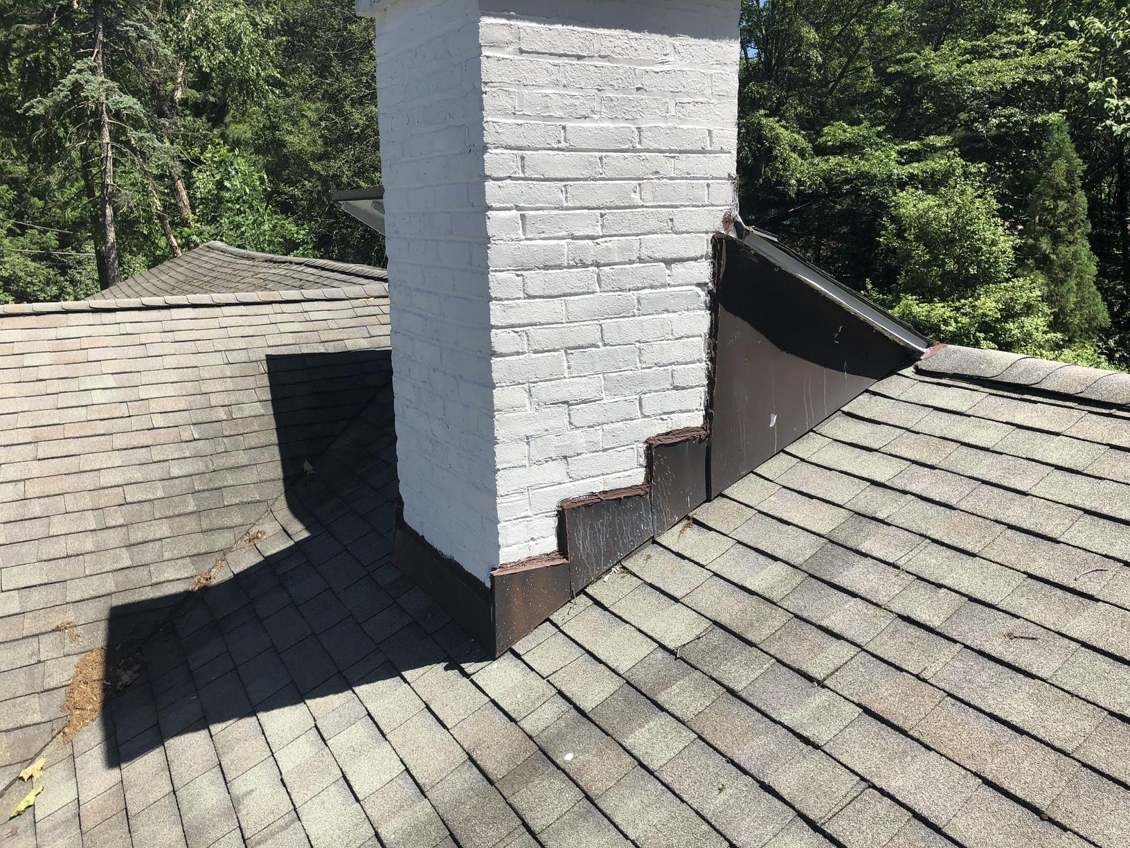 Replacing Old Chimney Flashing in PA