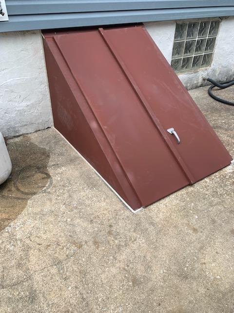 Custom Angle Cellar Door installed in Media, PA
