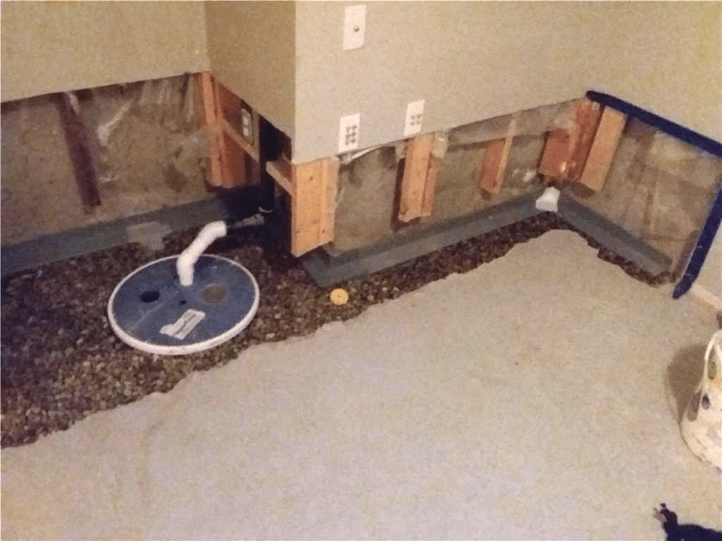 Waterproofing System Installed in NW Calgary, AB