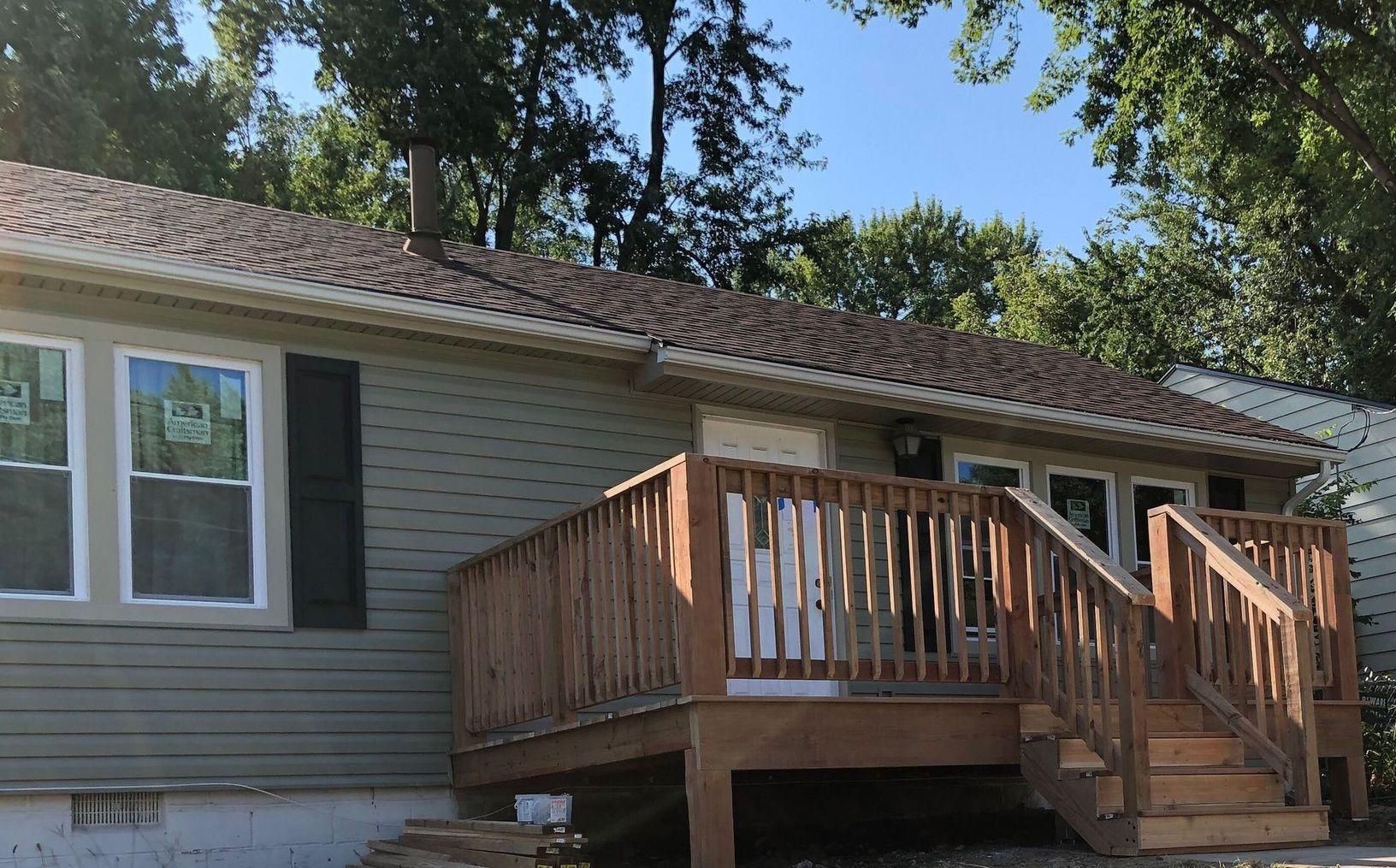 Deck and Siding