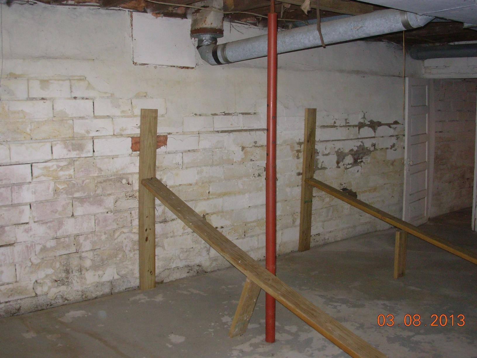 Basement Walls Falling In