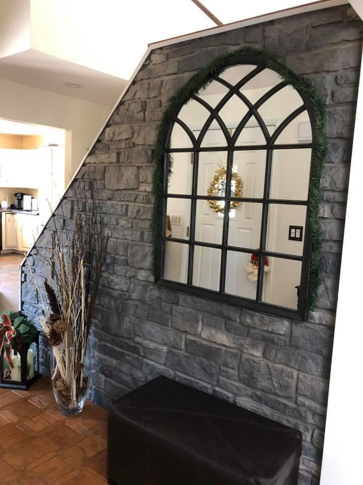 Tando Stone siding used on an accent wall