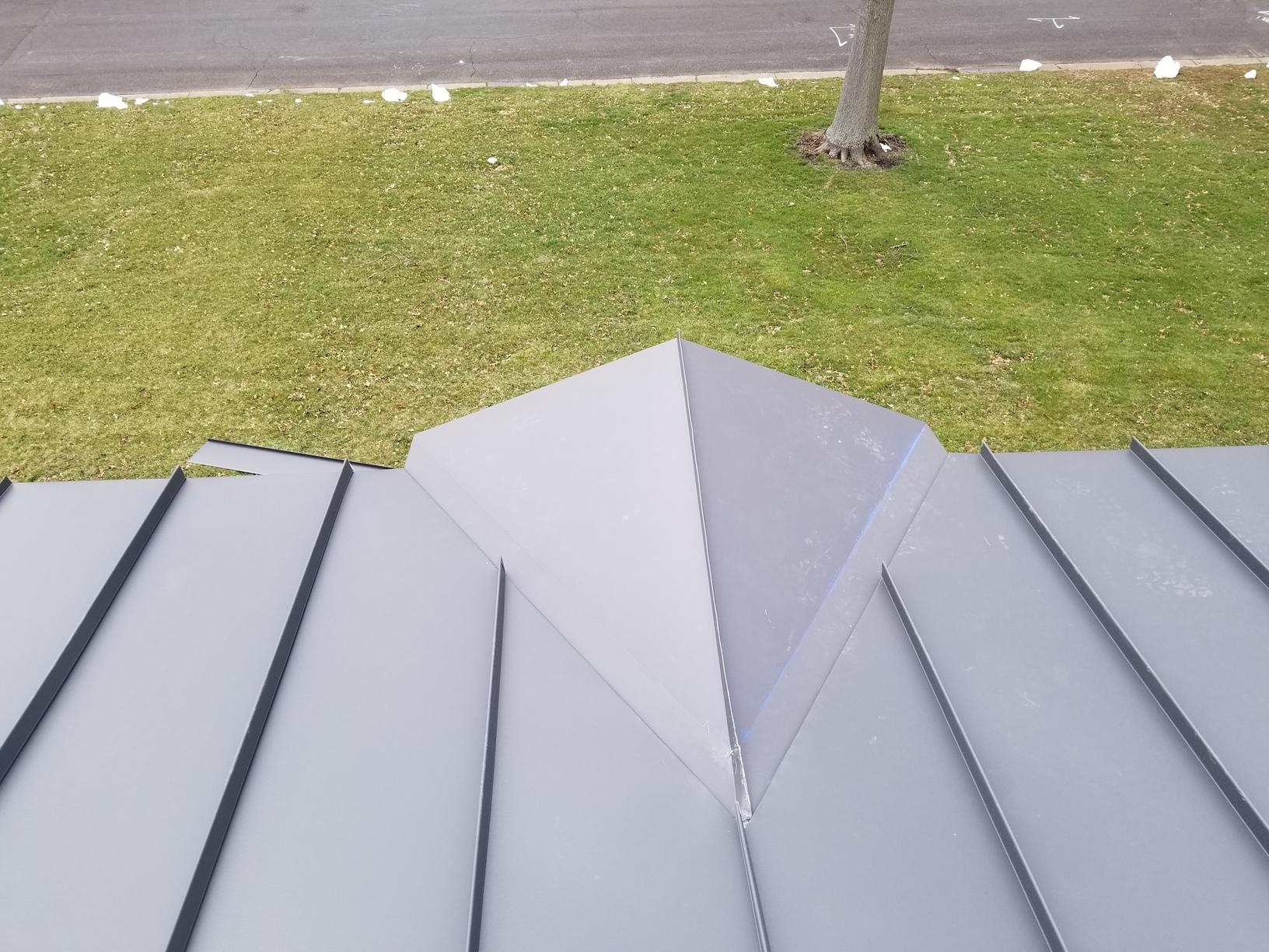 Standing Seam Metal Roof Install in PA