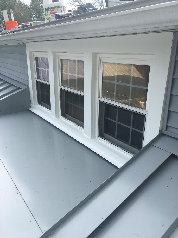 Standing Seam Metal Roof Around Windows