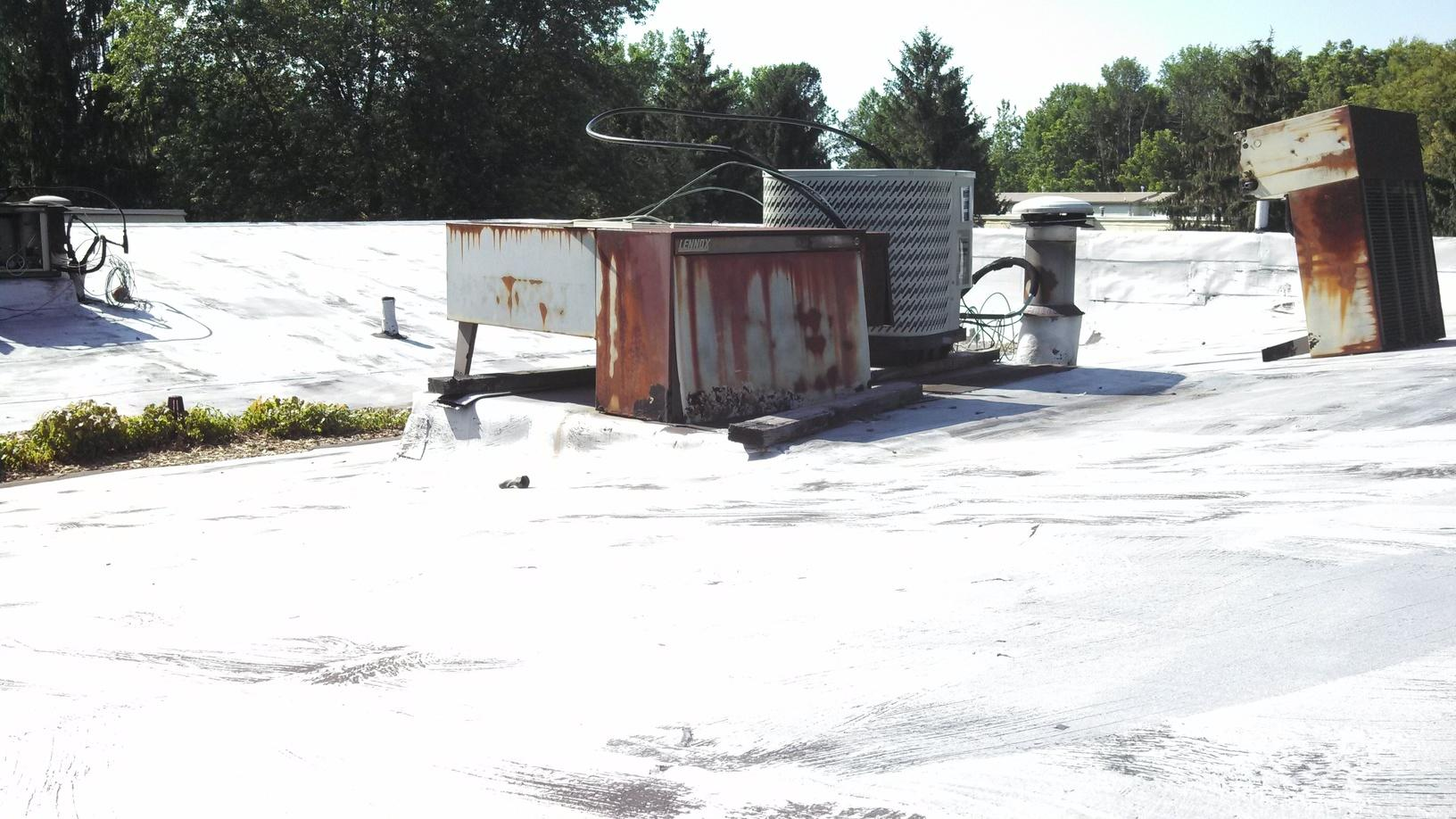 Old Rooftop A/C Unit