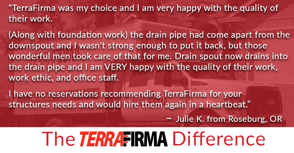 TerraFirma Roseburg Review from Julie!