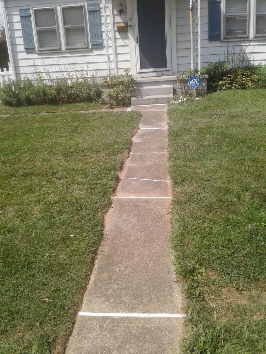 After Concrete Leveling