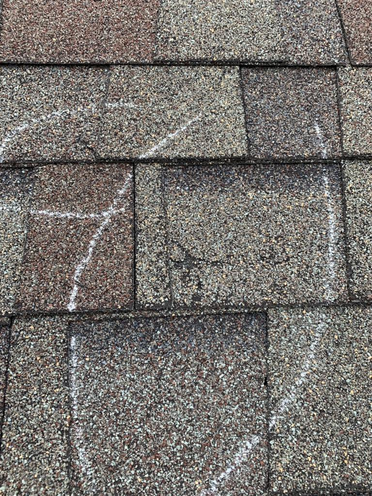 Roof Replacement In Dublin Oh Damaged Shingles