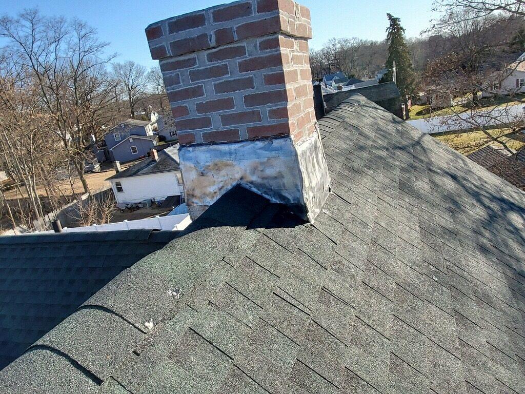 Chicopee Ma Wind Damaged Roof Britton St Chicopee