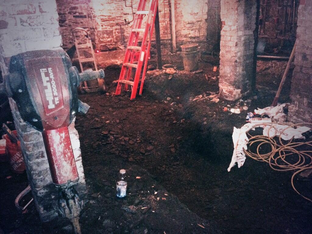 a Basement Dig Down