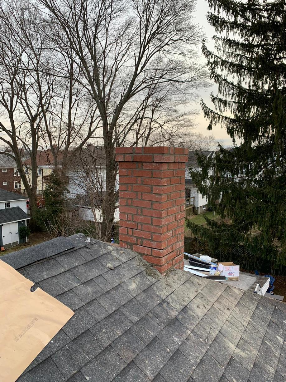 Chimney Repair Chimney Rebuild In Quincy Ma Finished