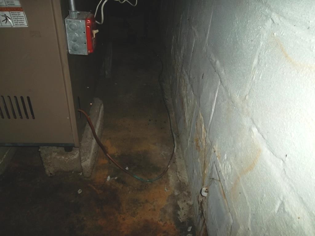 Water Seepage in East Windsor, CT