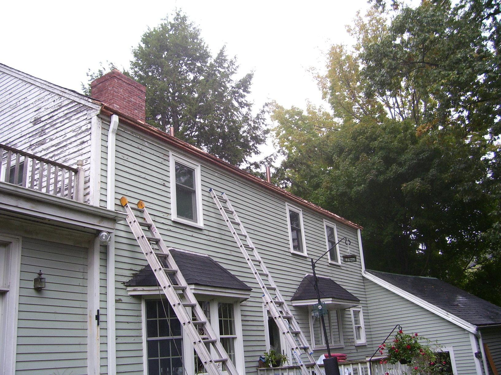 View of Gutters