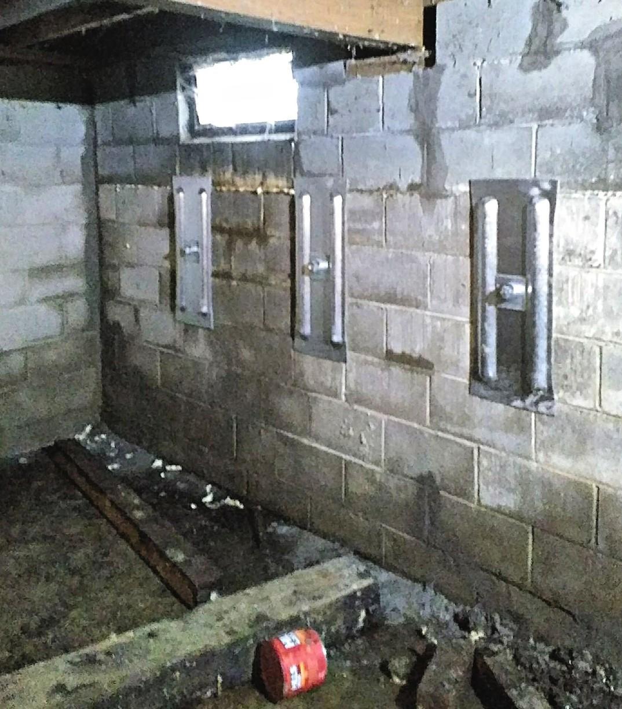 Step 3: Post Wall Anchor Installation