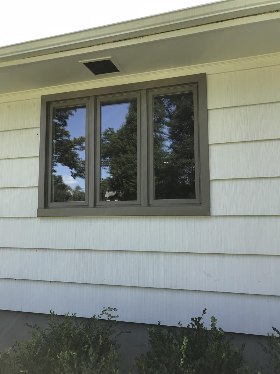 Infinity Windows with Pebble Grey Exterior in North Caldwell, NJ