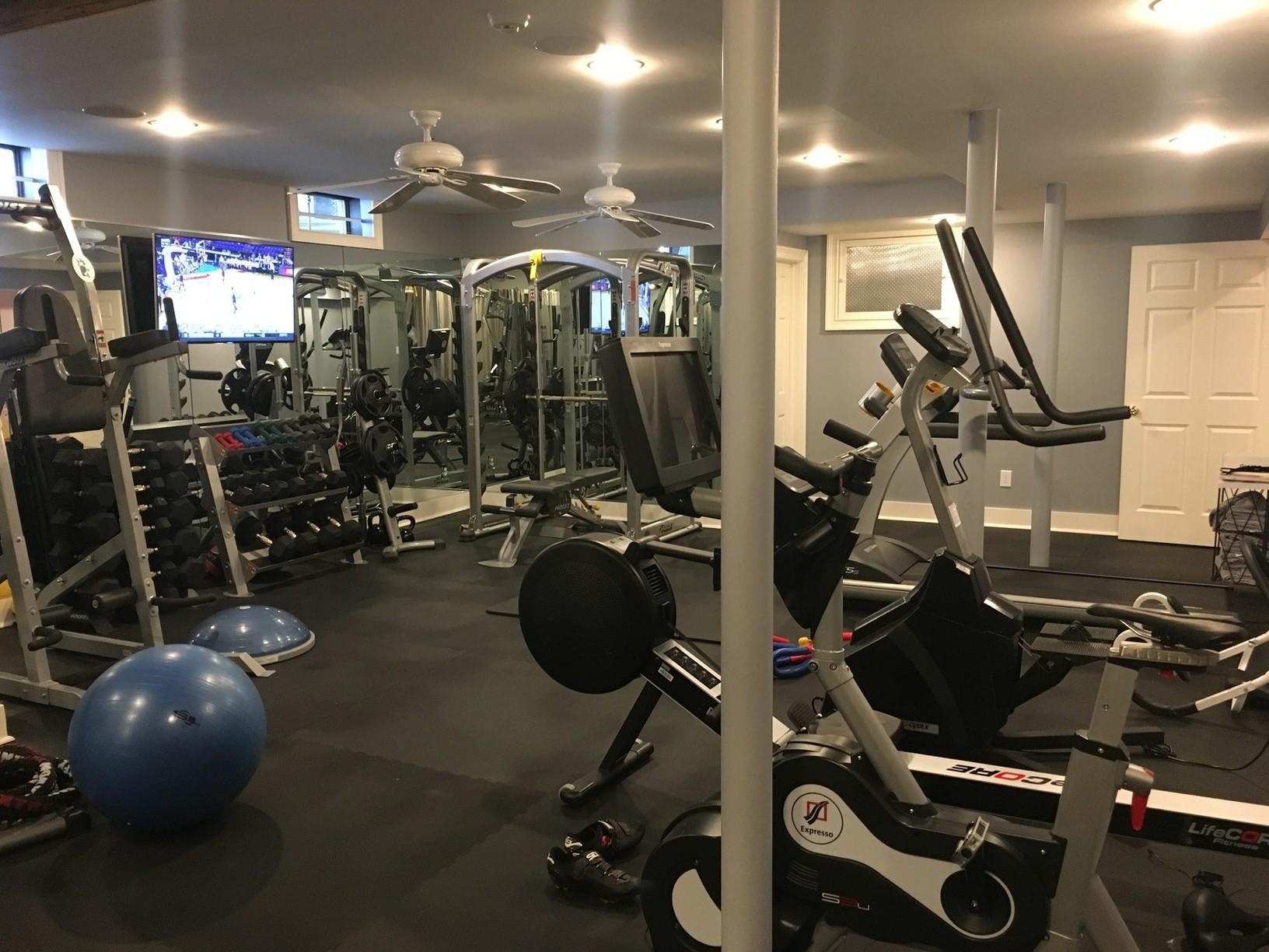 Home Gym Installation