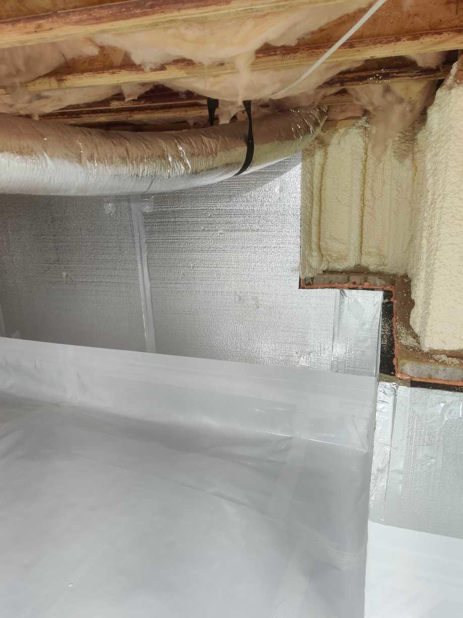 Walls With SilverGlo Insulation