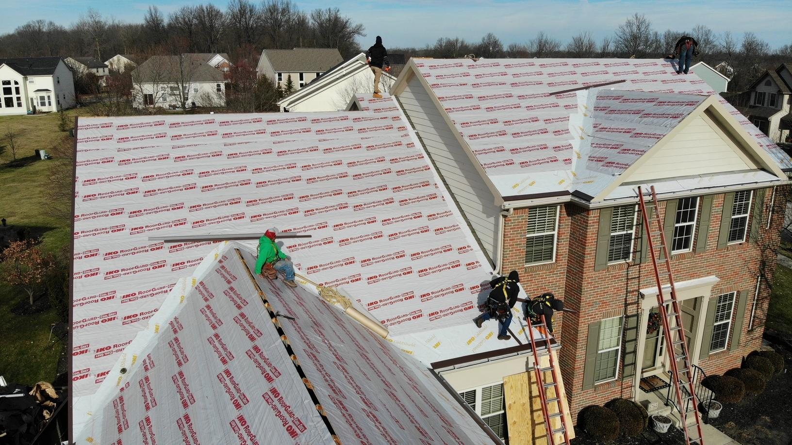 Roof Repair Roof Replacement In Dublin Oh Installing