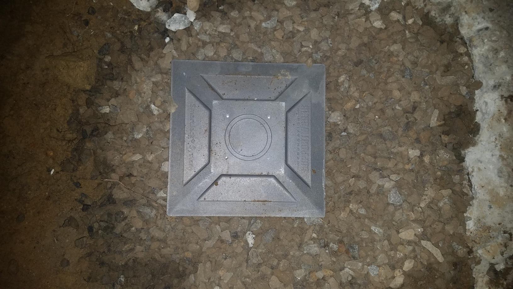 Engineered filled hole