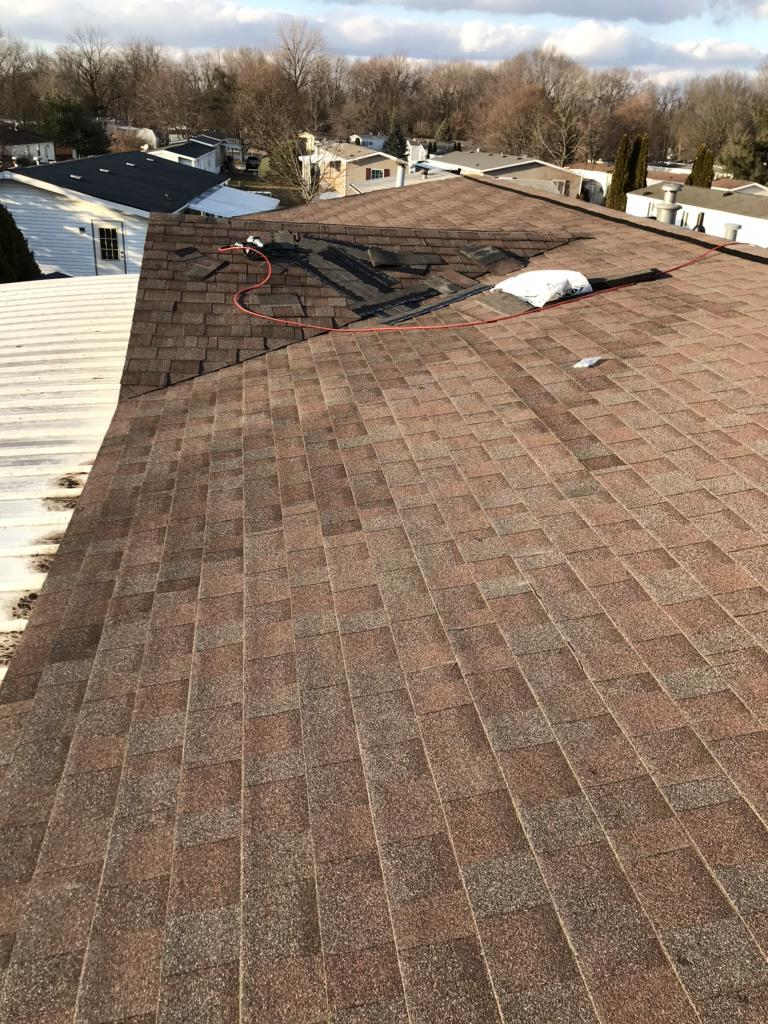 (Almost) Finished Roof in Delaware, OH